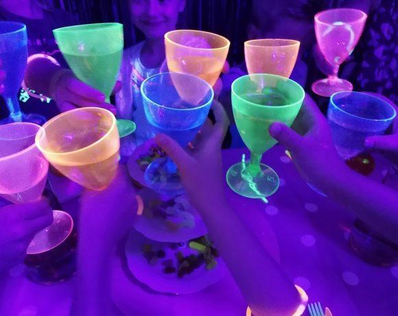 Glow-in-the-dark feest
